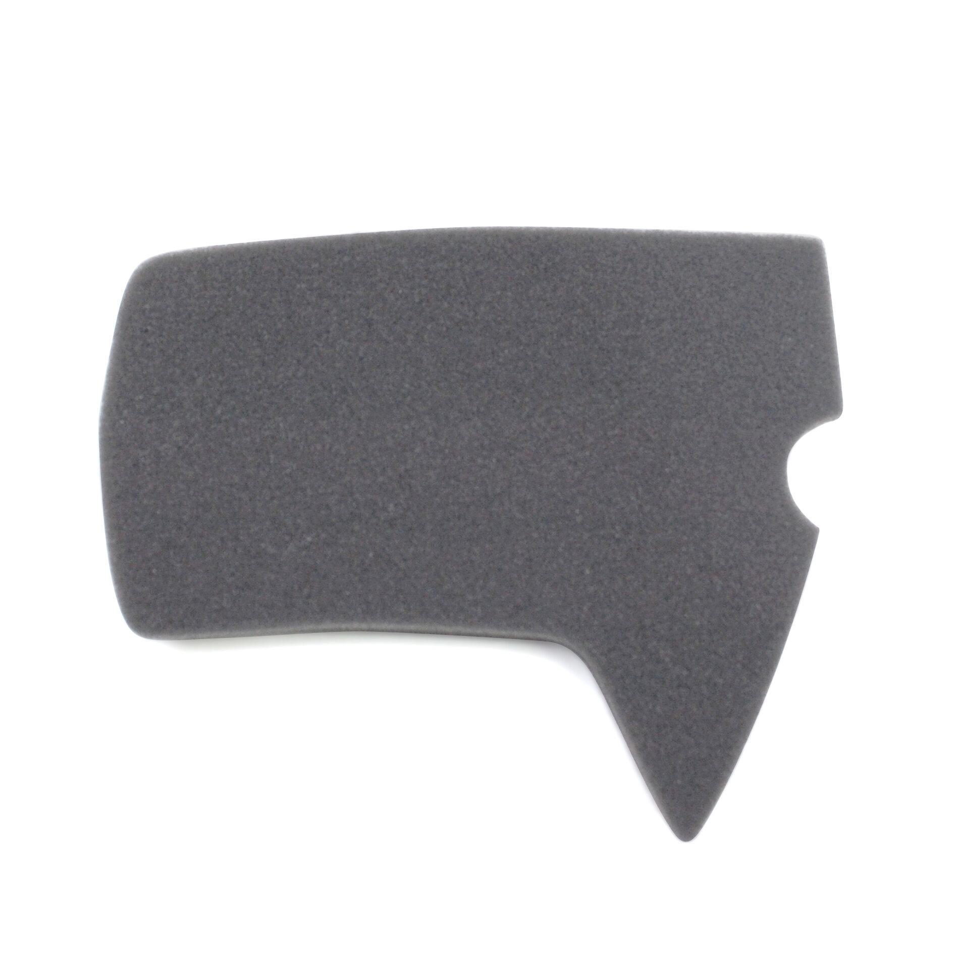 Mousse de filtre à air Ludix noire