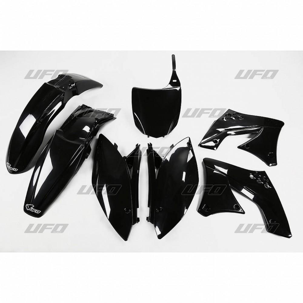 Kit plastique UFO Kawasaki 250 KX-F 09-12 noir