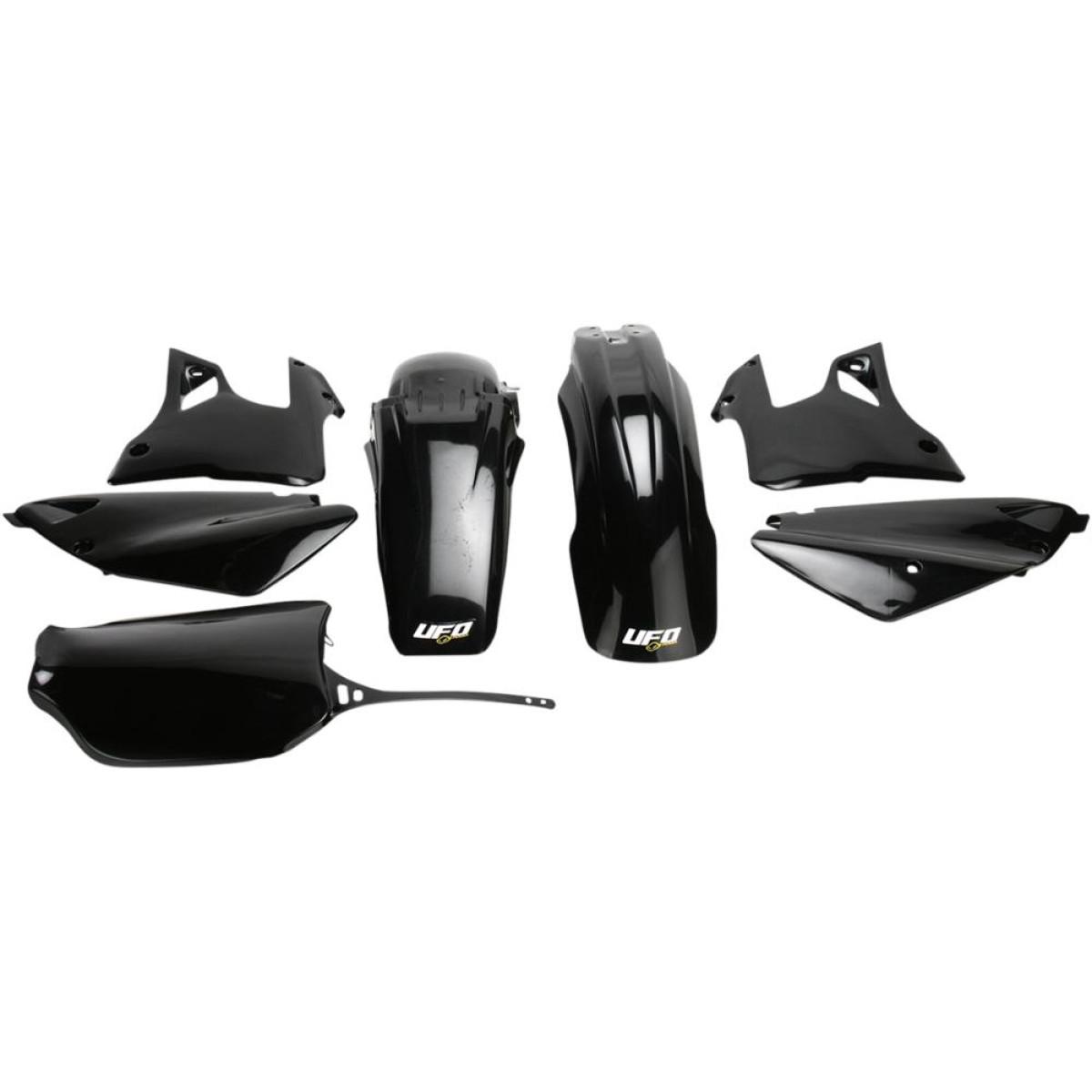 Kit plastique UFO Yamaha 125 YZ 00-01 noir