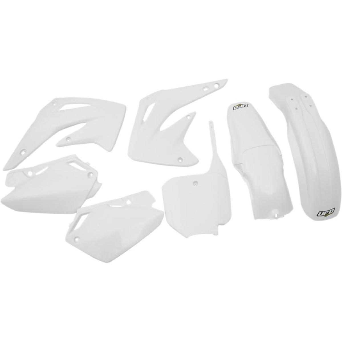 Kit plastique UFO Honda CR 85R 03-07 blanc