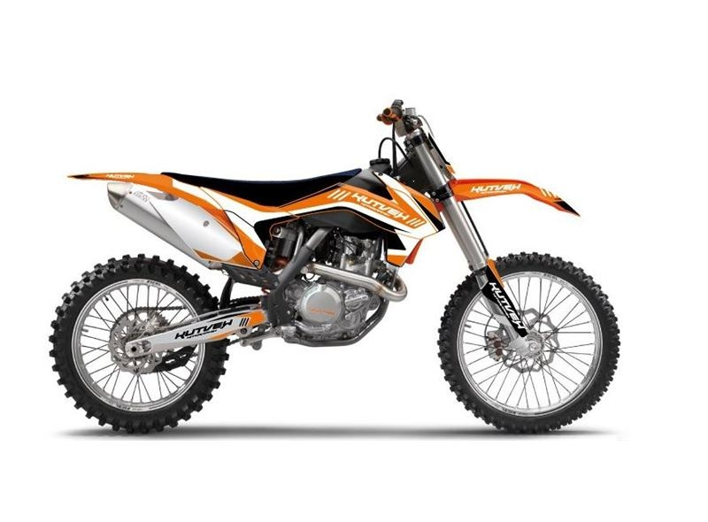 Kit déco Kutvek Chrono orange KTM SX-F450