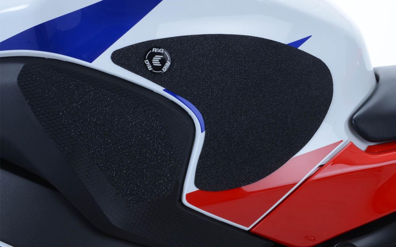 Kit grip de réservoir R&G Racing noir 4 pièces Honda CBR 1000 RR 12-16