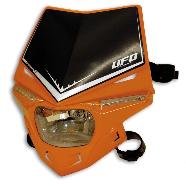 Plaque de phare UFO Stealth orange (orange KTM 68-11)