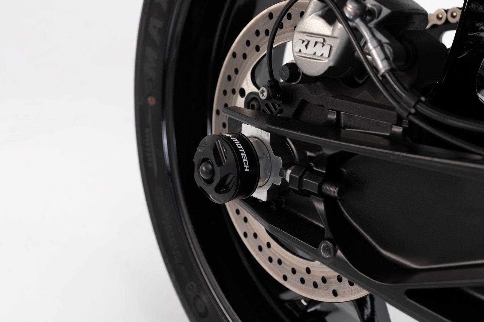 Protection de bras oscillant SW-Motech noir KTM Duke 790 2018