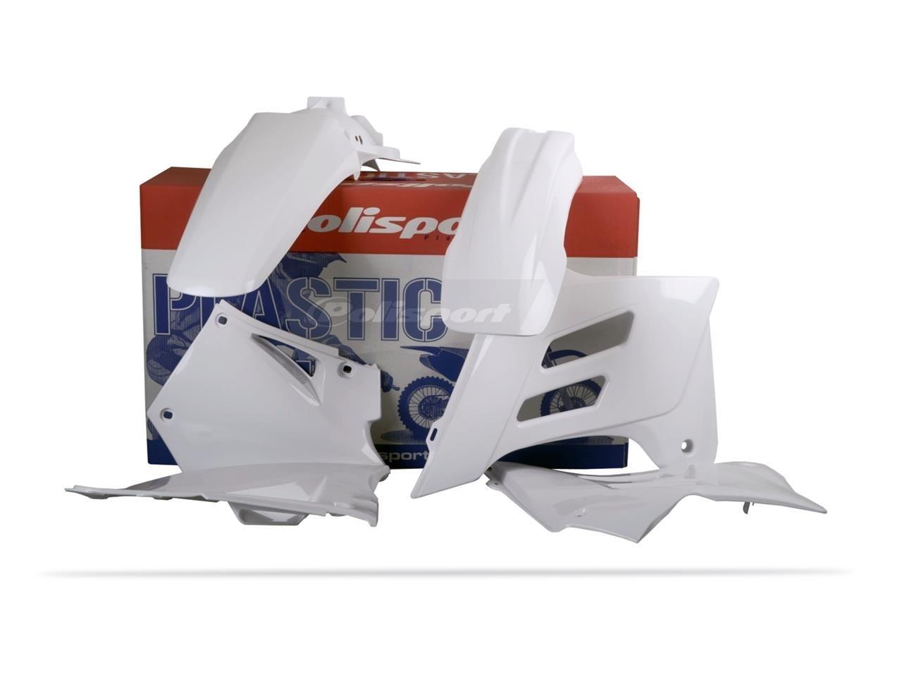 Kit plastique Polisport Gas Gas 300 EC 05-06 blanc