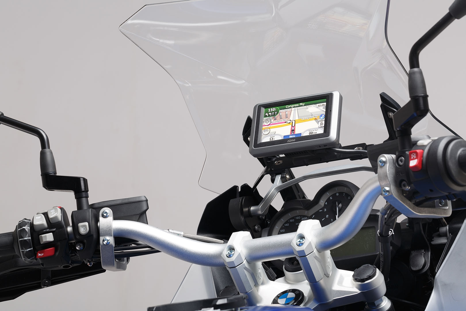 Support GPS SW-MOTECH QUICK-LOCK noir BMW R 1200 GS LC / Adventure 13-