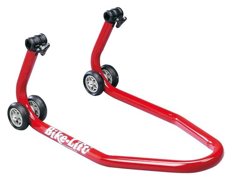 Béquille avant rouge Bike Lift sans supports