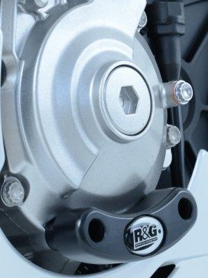 Slider moteur gauche R&G Racing noir Yamaha YZF-R1 15-18