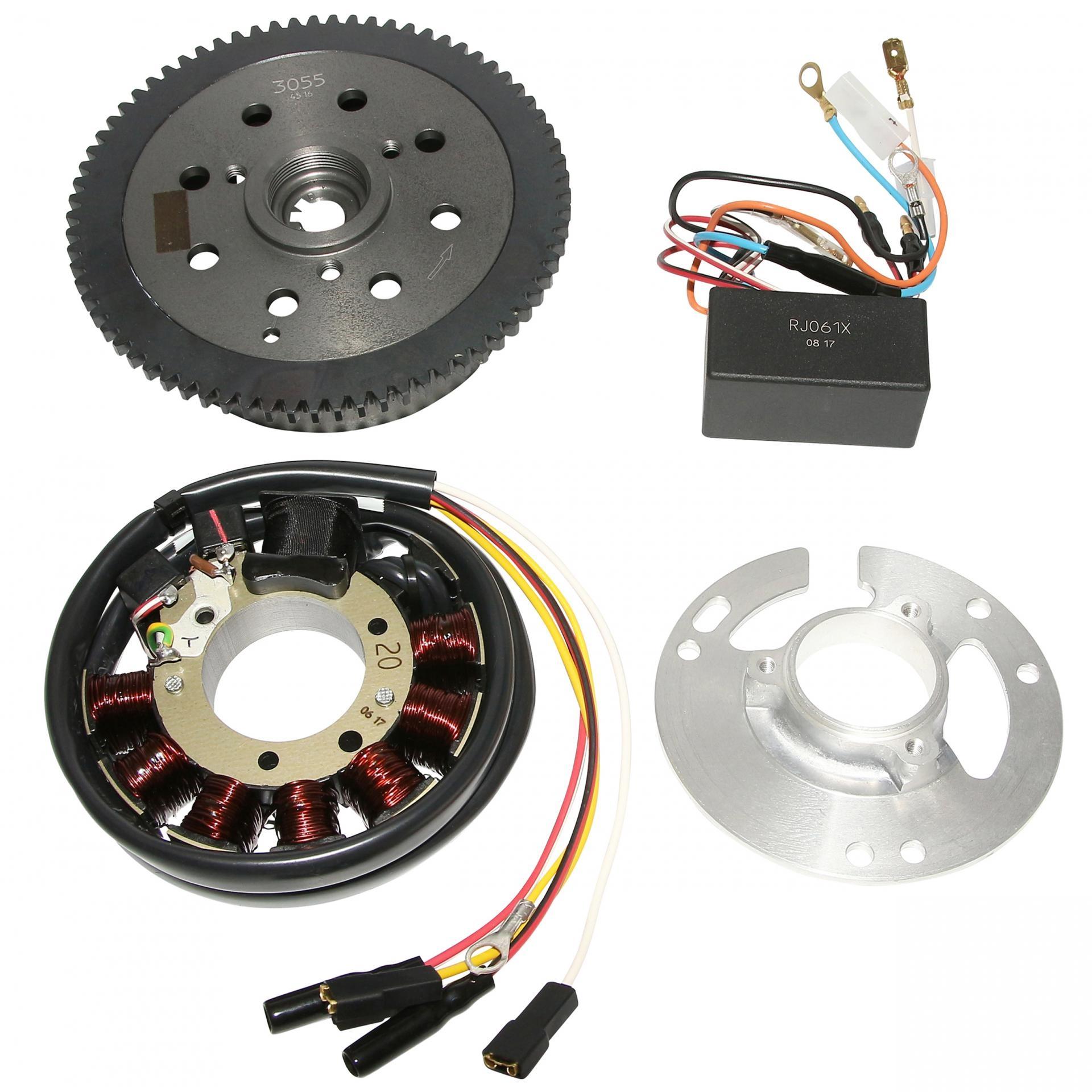 Allumage analogique KRD Yamaha TZR / MBK X-Power 04-