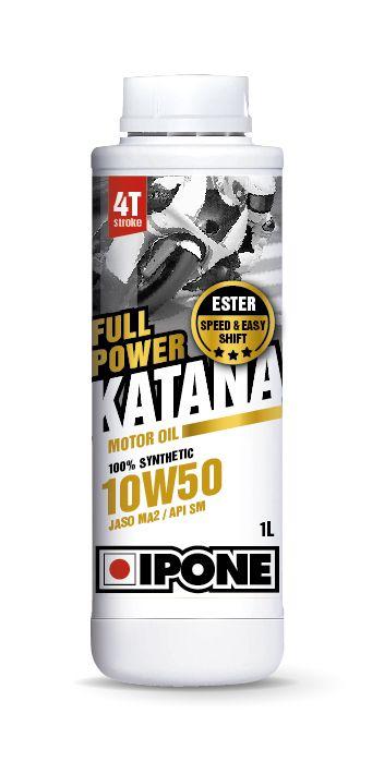 Huile moteur 4T Ipone Full Power Katana 10W50 1l