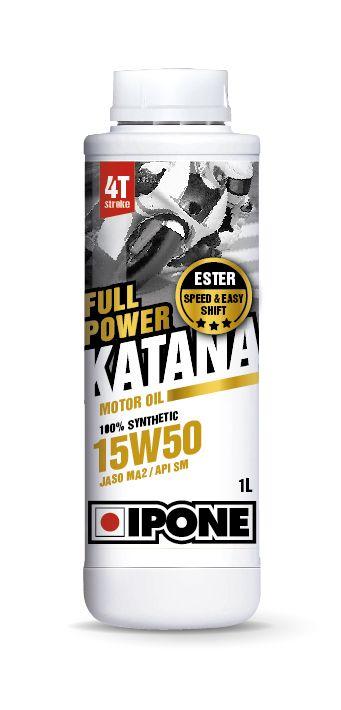 Huile moteur 4T Ipone Full Power Katana 15W50 1l