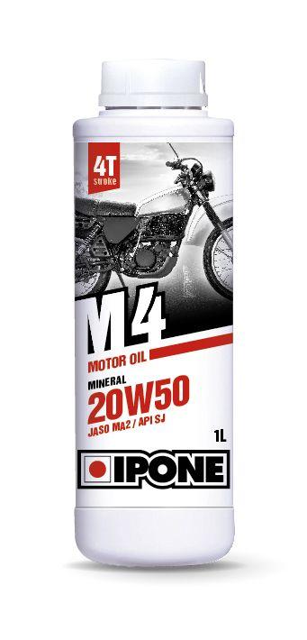 Huile moteur 4T Ipone M4 20W50 1l