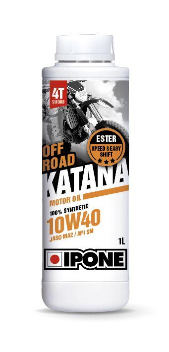 Huile moteur 4T Ipone Katana Off Road 10W40 1l