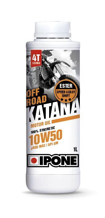 Huile moteur 4T Ipone Katana Off Road 10W50 1l