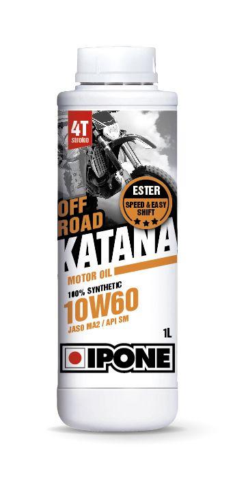 Huile moteur 4T Ipone Katana Off Road 10W60 1l