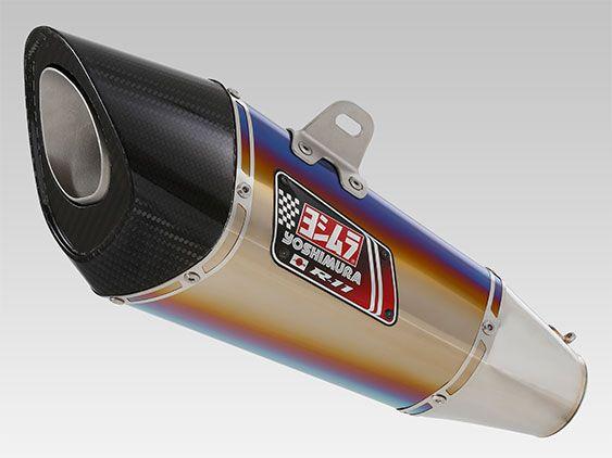 Silencieux homologué Yoshimura R11 titane bleu pour Suzuki GSR 750 11-