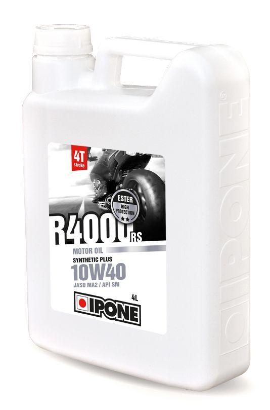 Huile moteur 4T Ipone R4000 RS 10W40 4l