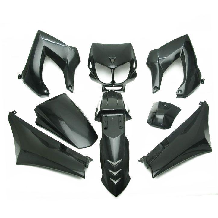 Kit Habillage (8 pièces) Type Origine Derbi Senda /XTREM 2003> - Blanc