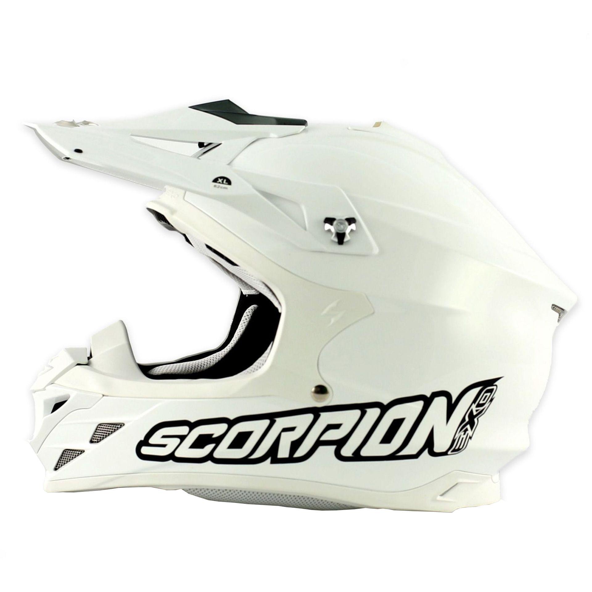 Casque cross Scorpion VX-15 EVO AIR Blanc - L