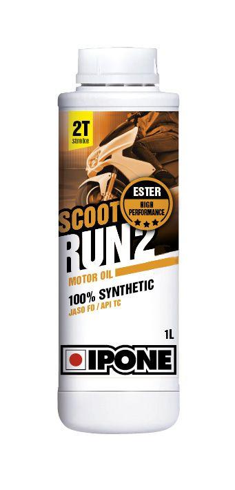Huile moteur 2T Ipone Scoot Run 2 1l