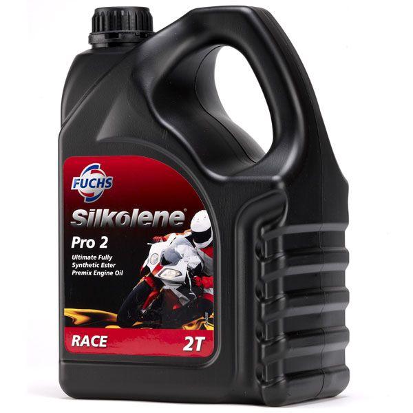 Huile moteur 2T Silkolene Pro 2 4l