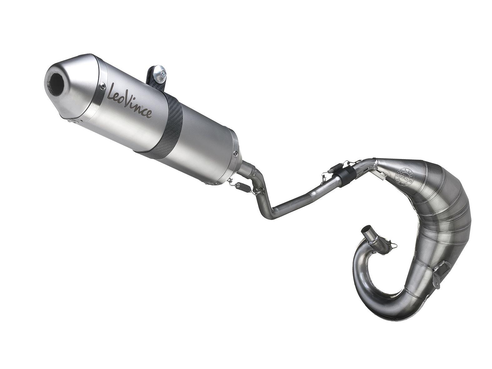 Pot d'échappement Leovince X-fight pour Yamaha DT 50 R/X 03-11