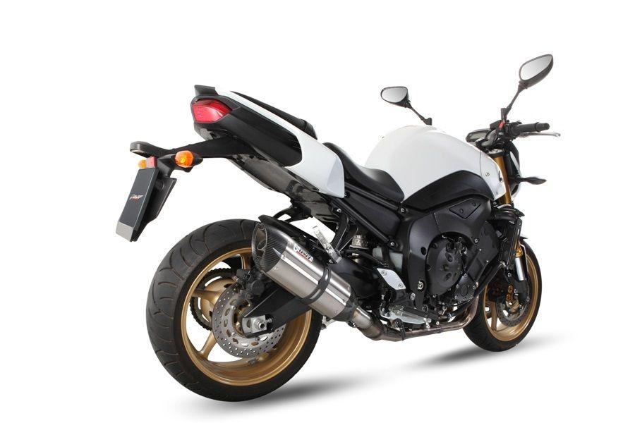 Silencieux MIVV Suono inox / casquette carbone Yamaha FZ8 / Fazer 8 10